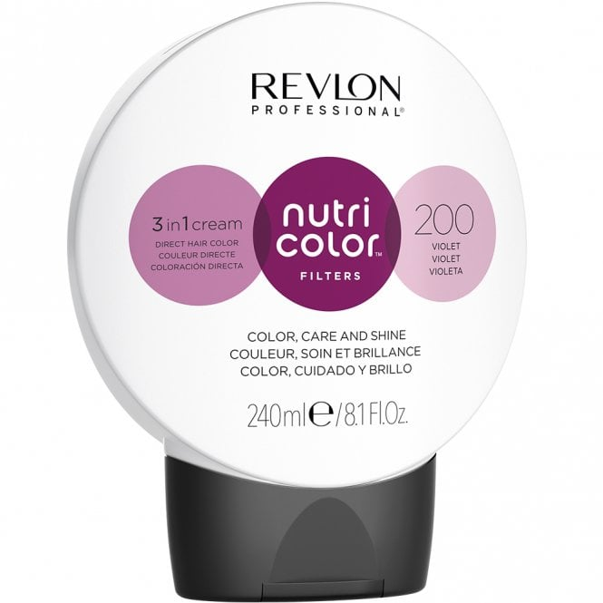 Revlon Professional Nutri Color Filter 200 Violet 240ml