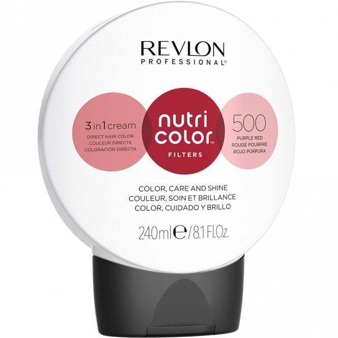 Revlon Professional Nutri Color Filters 500 Purple Red  240ml