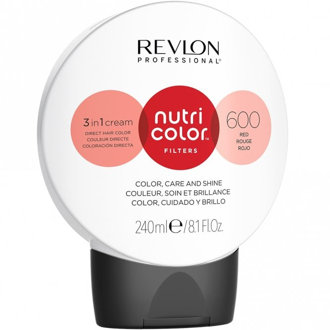 Revlon Professional Nutri Color Filters 600 Red 240ml