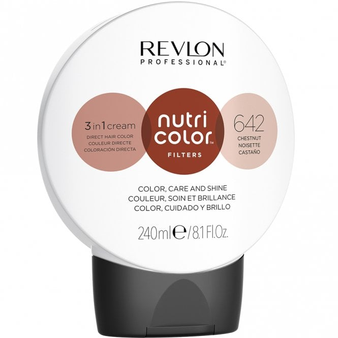 Revlon Professional Nutri Color Filter 642 Chesnut 240ml