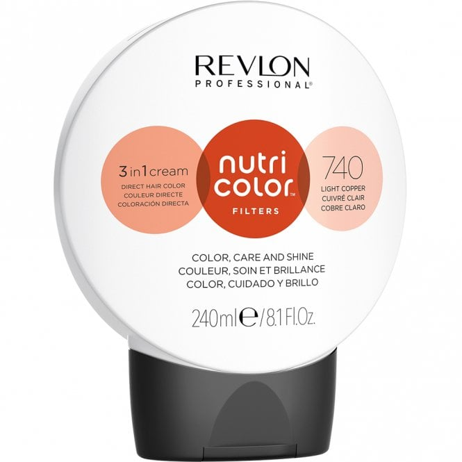 Revlon Professional Nutri Color Filters 740 Light Copper  240ml