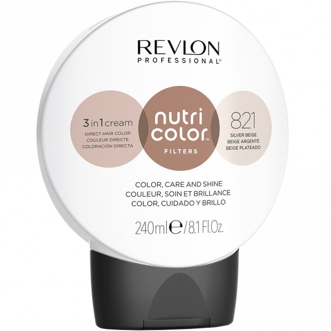 Revlon Professional Nutri Color 821 Silver Beige 240ml