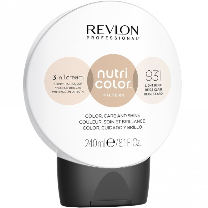 Revlon Professional Nutri Color Filters 931 Light Beige 240ml