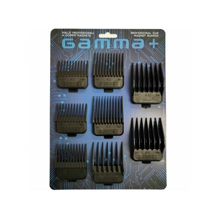 Gamma+ Professional Dub Magnetic Guard - Set of 8