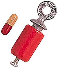 "Load image into Gallery viewer, An unpackaged bird call. The metal hook at the top is stamped with the words ""Audobon Bird Call""."