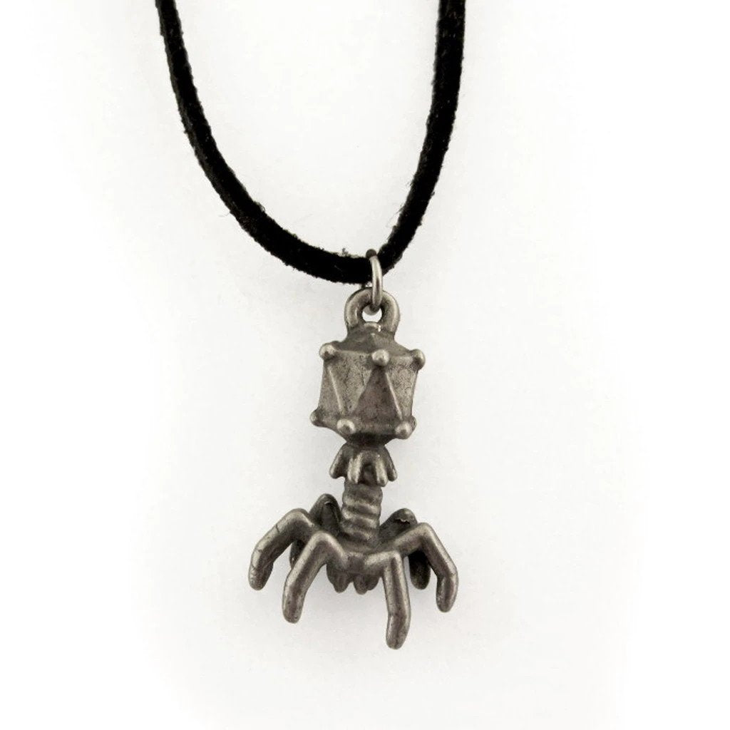 T4 Bacteriophage Necklace Jewelry