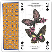 Load image into Gallery viewer, Butterflies of the World Playing Cards