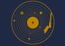Load image into Gallery viewer, Solar System Vinyl Record T-Shirt