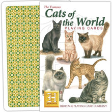 Load image into Gallery viewer, Cats of the World Playing Cards