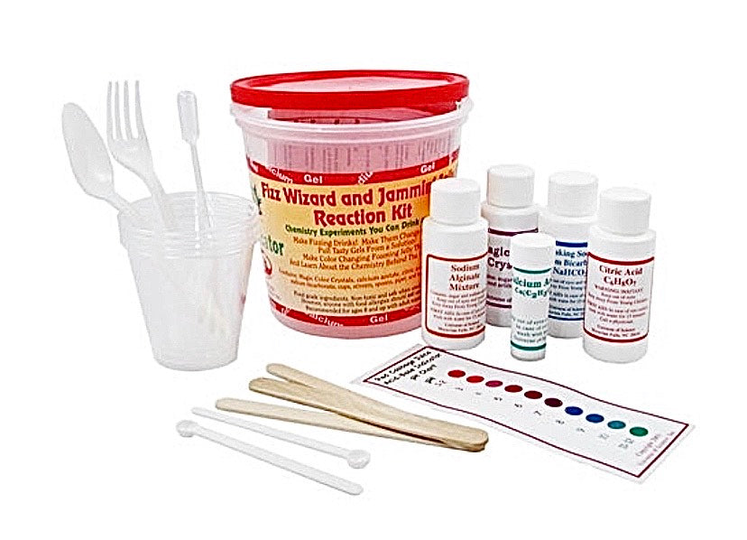 Fizz Wizard and Jammin' Jelly Reaction Science Kit