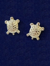 Load image into Gallery viewer, Turtle Post Earrings Jewelry