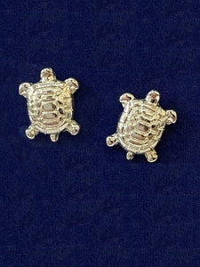 Turtle Post Earrings Jewelry