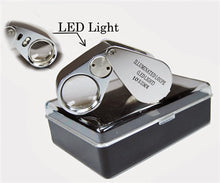 Load image into Gallery viewer, 10x  X  21mm  Deluxe Jewelers Loupe with LED Light