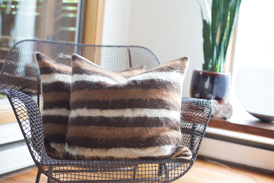 LIMITED EDITION | PERUVIAN TEXTURED NEUTRAL STRIPES