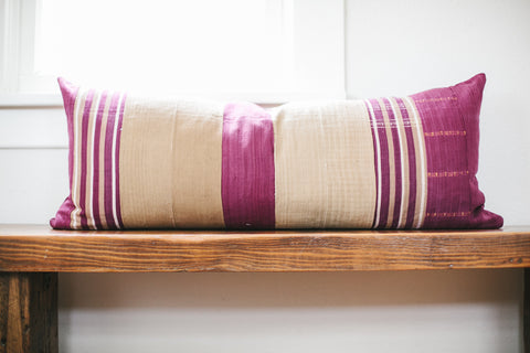 LIMITED EDITION | MALI STRIPES | ORCHID & TAN