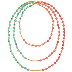 Longstrand Colorblock Rope Necklace