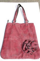 Recycled fish netting FLOWER BAG