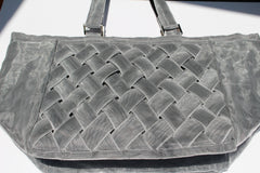 Recycled fish netting WOVEN TOTE