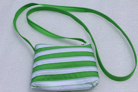 "Zipper PRINCESS ""TWO TONE"" PURSE"