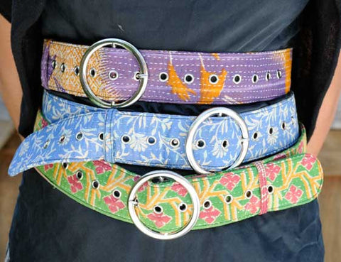 Kantha WIDE BELT