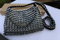 Recycled pull tab THAI PURSE
