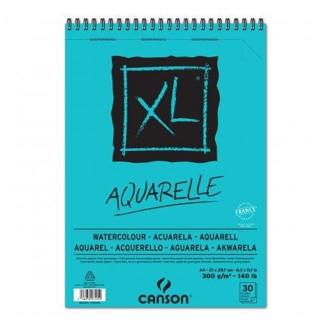 Album Xl Aquarelle A4 21X29.7 Gf 300G 30H