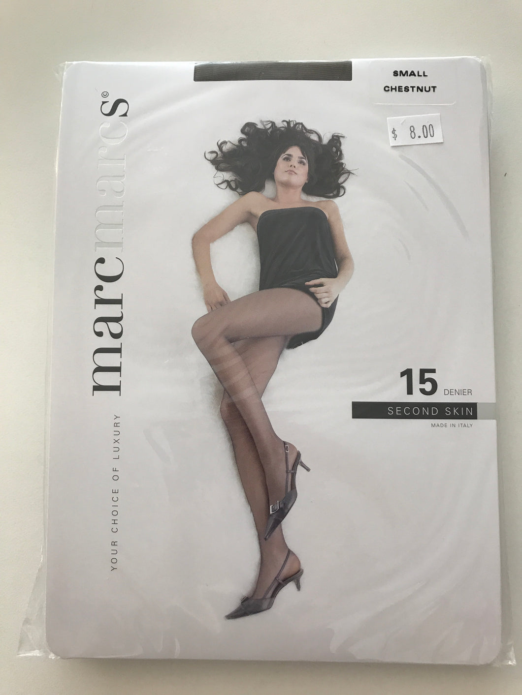 Marc Pantyhose/S/Chestnut  15 Denier