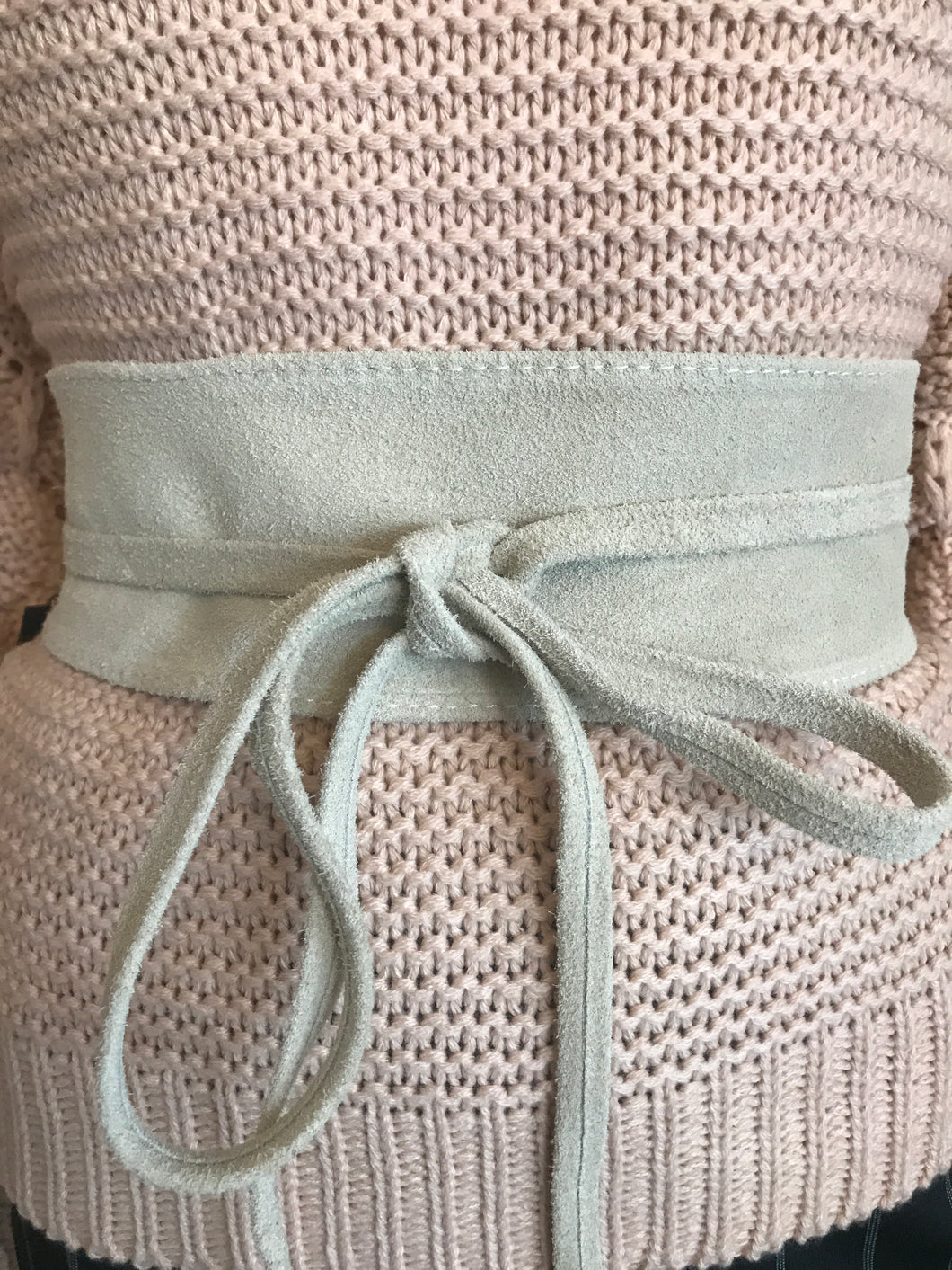 Pale Off White Belt