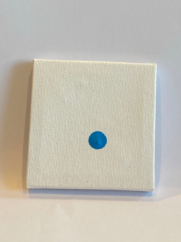 Mediocre Little Blue Quite Off-Centre Dot