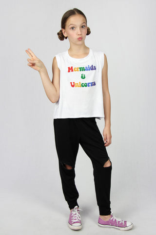 Mermaids & Unicorns Muscle Tee
