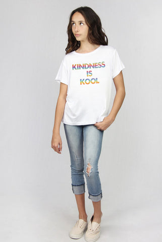 """Kindness is Kool"" Basic Tee"