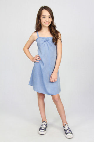 Slip Dress - Chambray