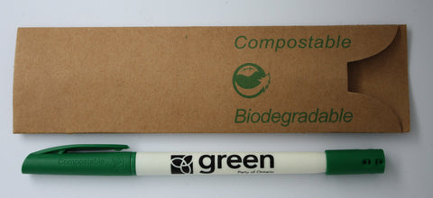 GPO Seed Pen - Green w. White Barrel