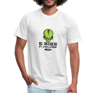E Bike Revolution Skull - white