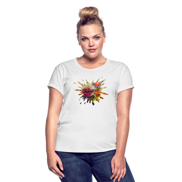 Women's Relaxed Fit T-Shirt - white