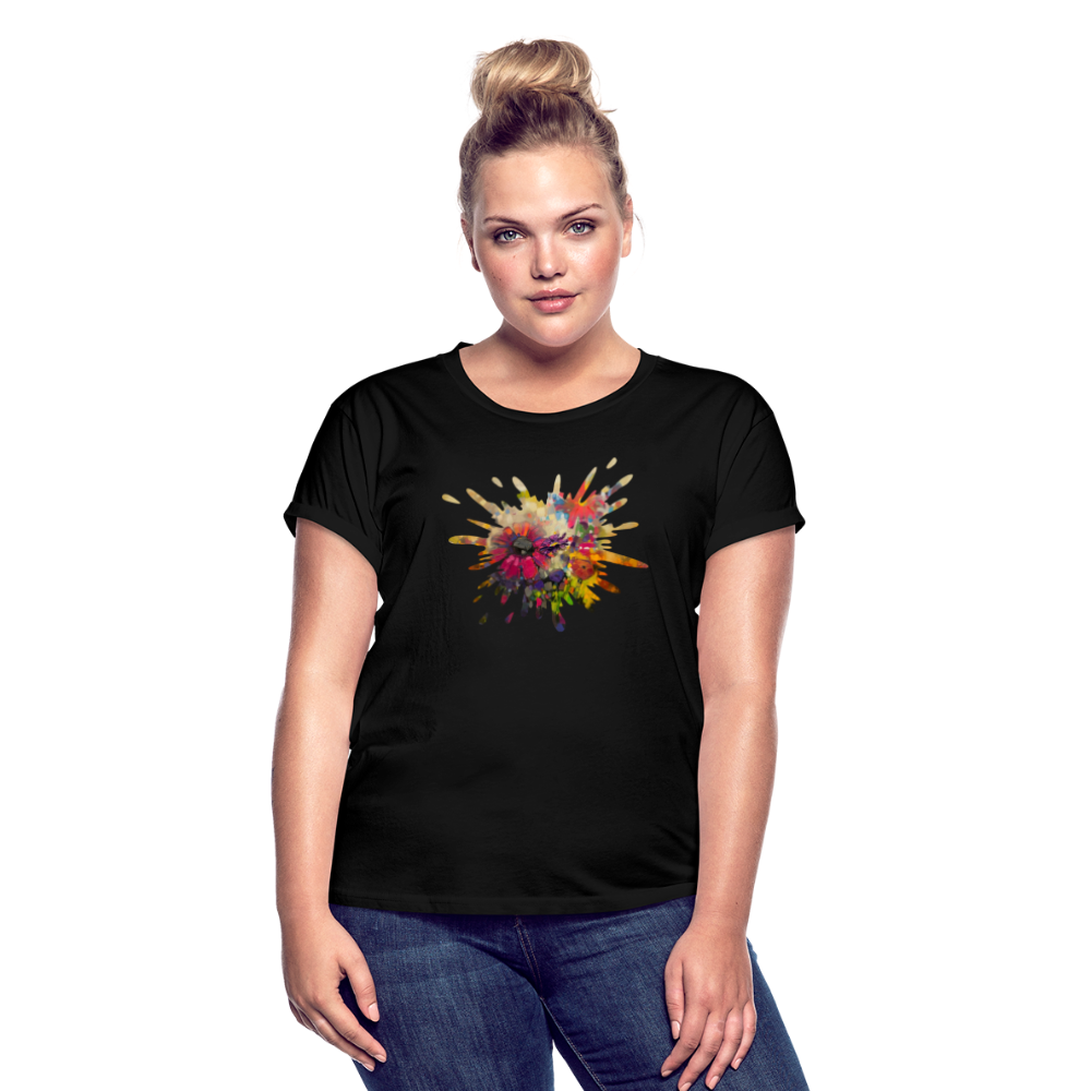 Women's Relaxed Fit T-Shirt - black