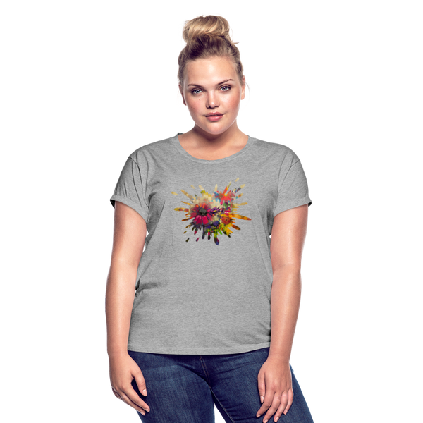 Women's Relaxed Fit T-Shirt - heather gray