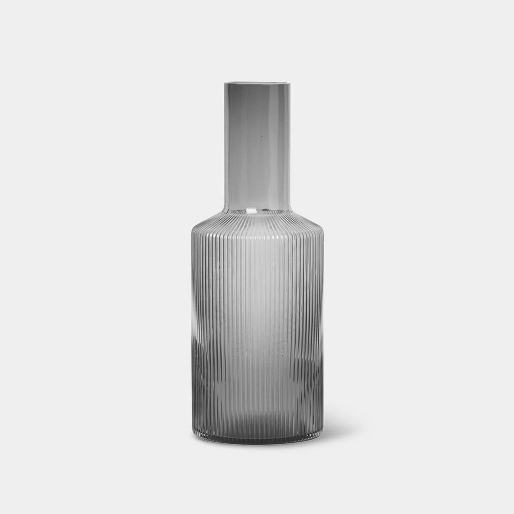Ripple Glass Carafe