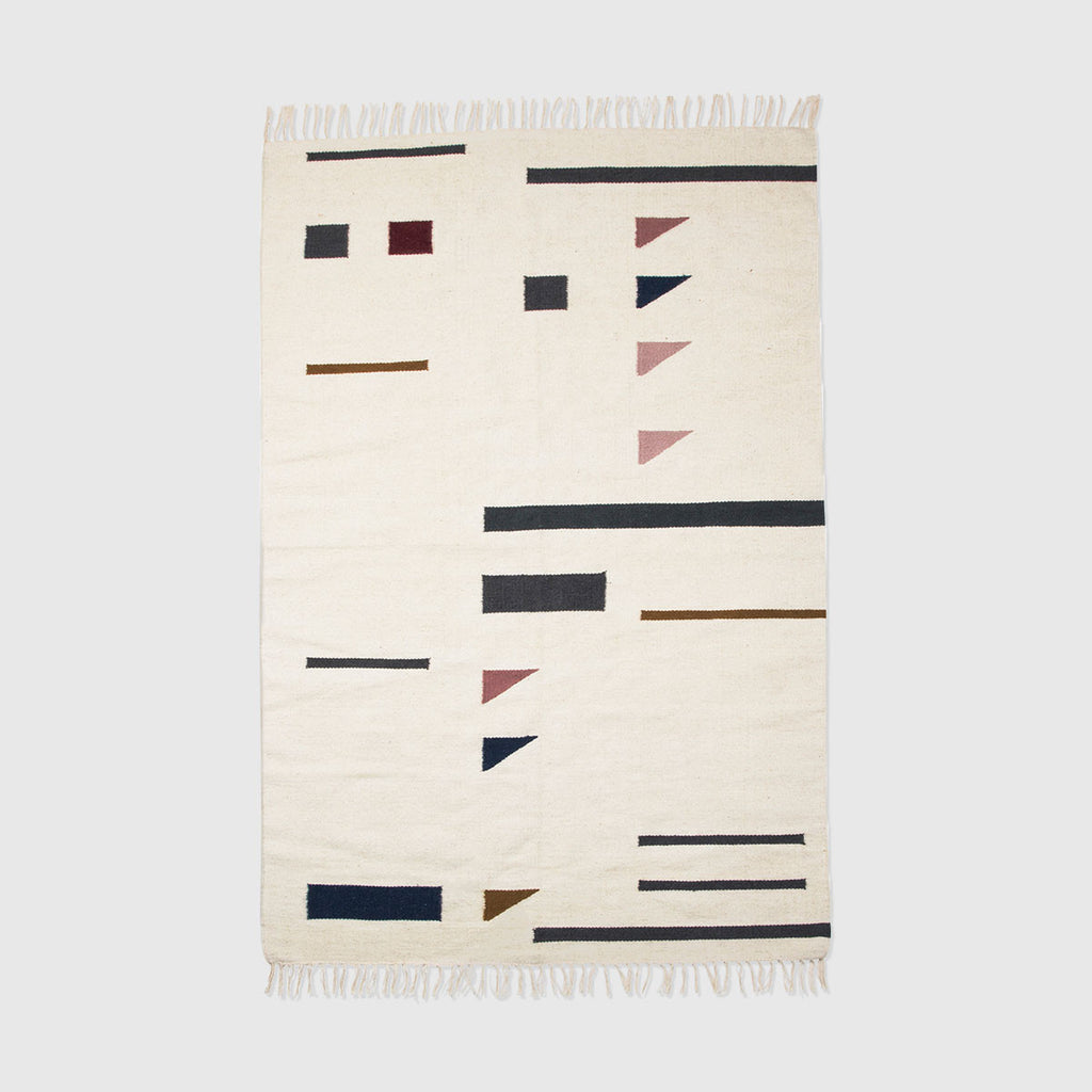 Triangles Kelim Rug