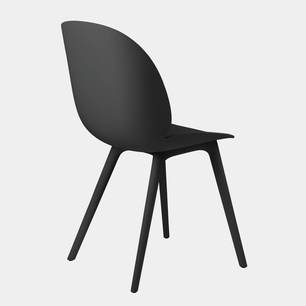 Beetle Dining Chair, plastic base