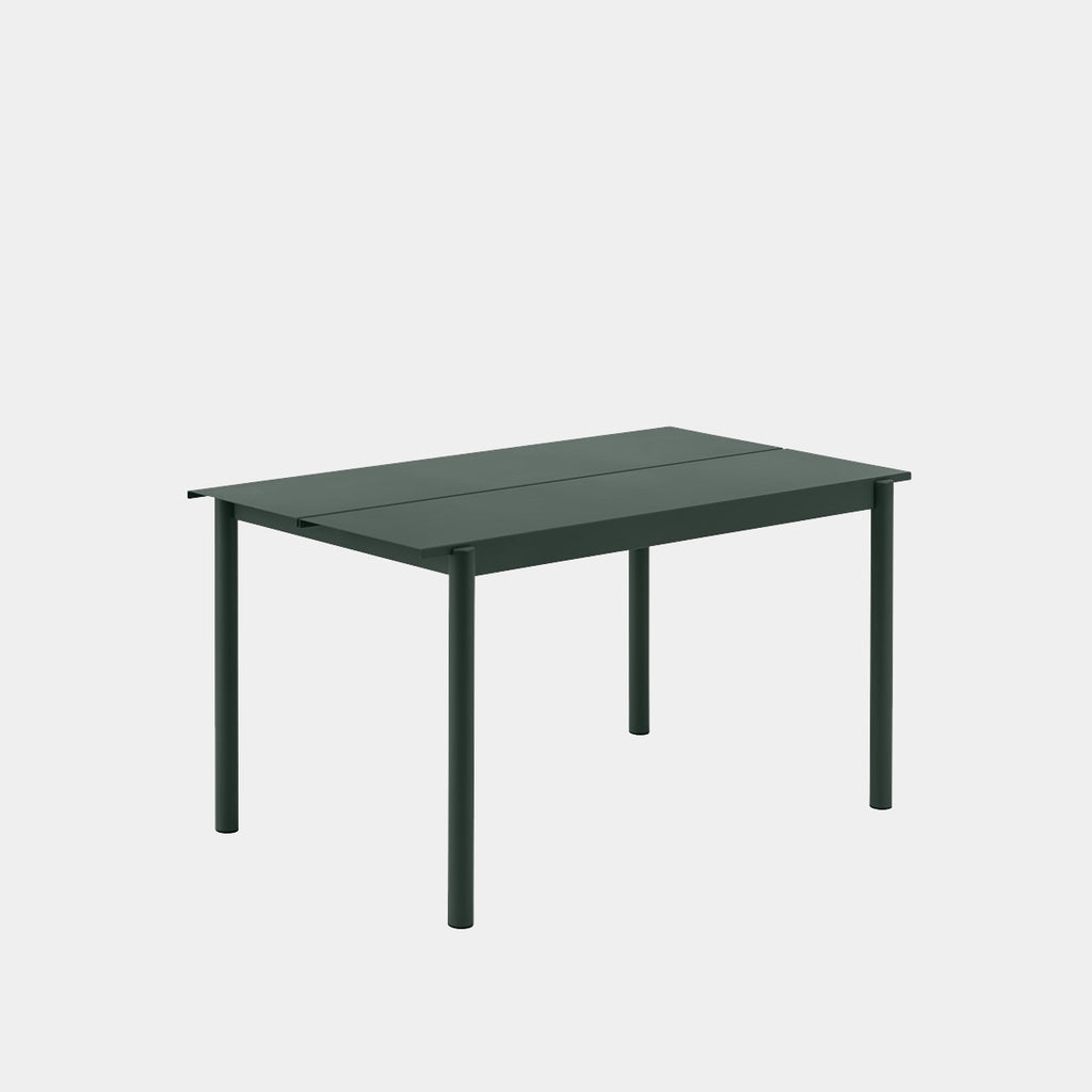Linear Outdoor Table