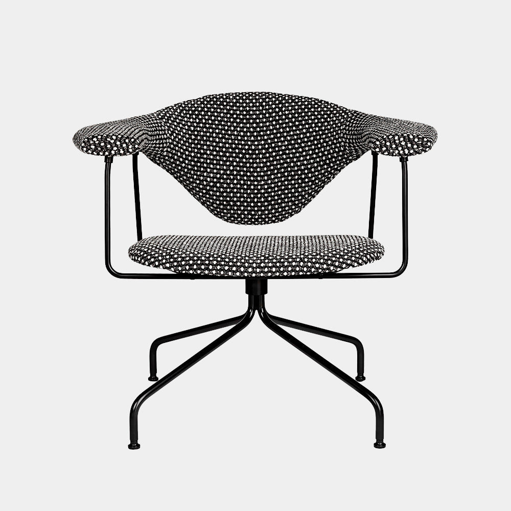 Masculo Lounge Chair, swivel base