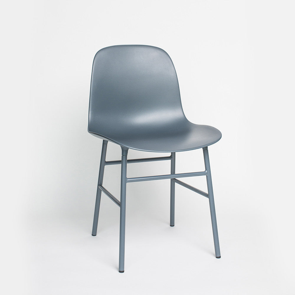 Form Chair, steel legs