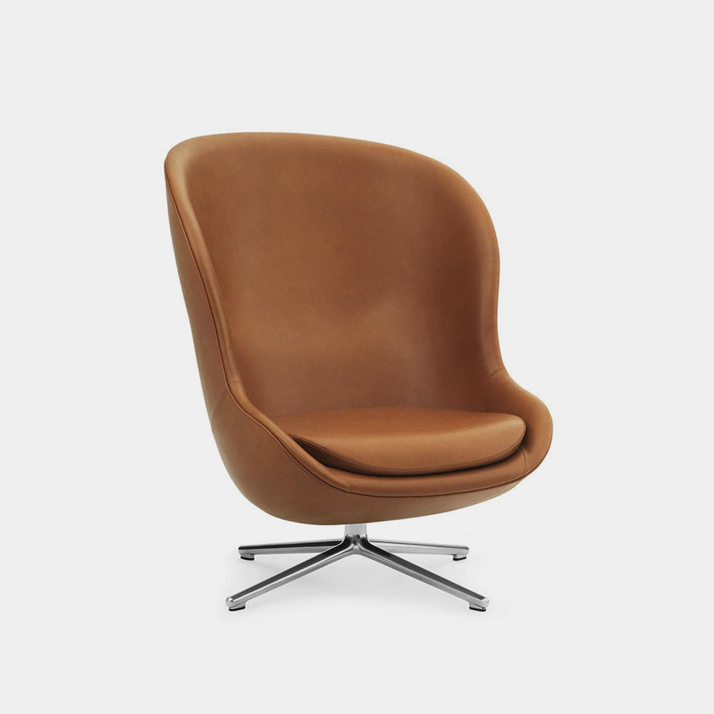 Hyg Chair, high, swivel base with tilt
