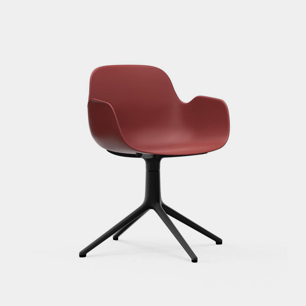 Form Armchair, swivel base