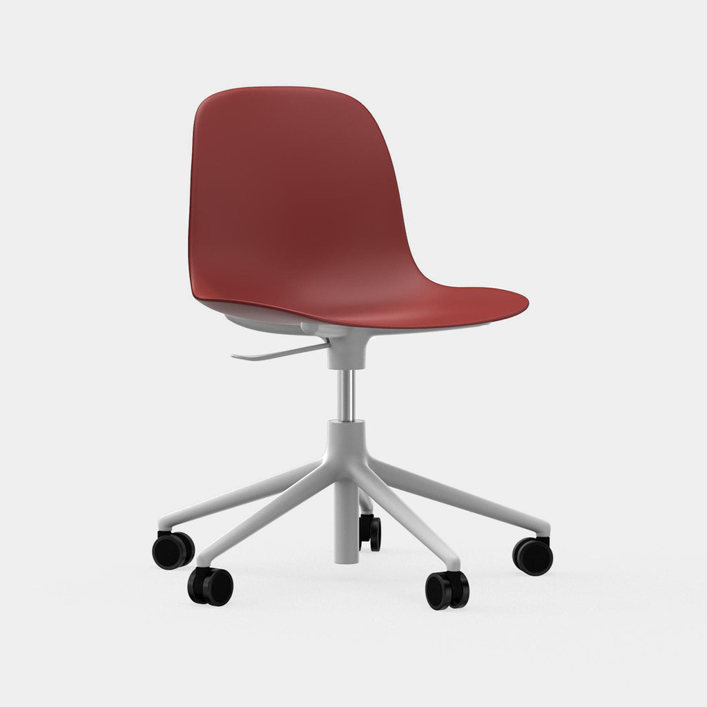 Form Side Chair, castor base
