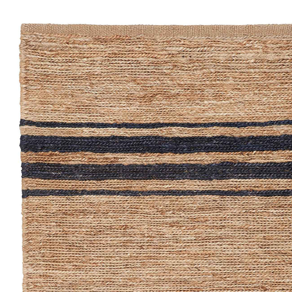 River Ticking Stripe Rug