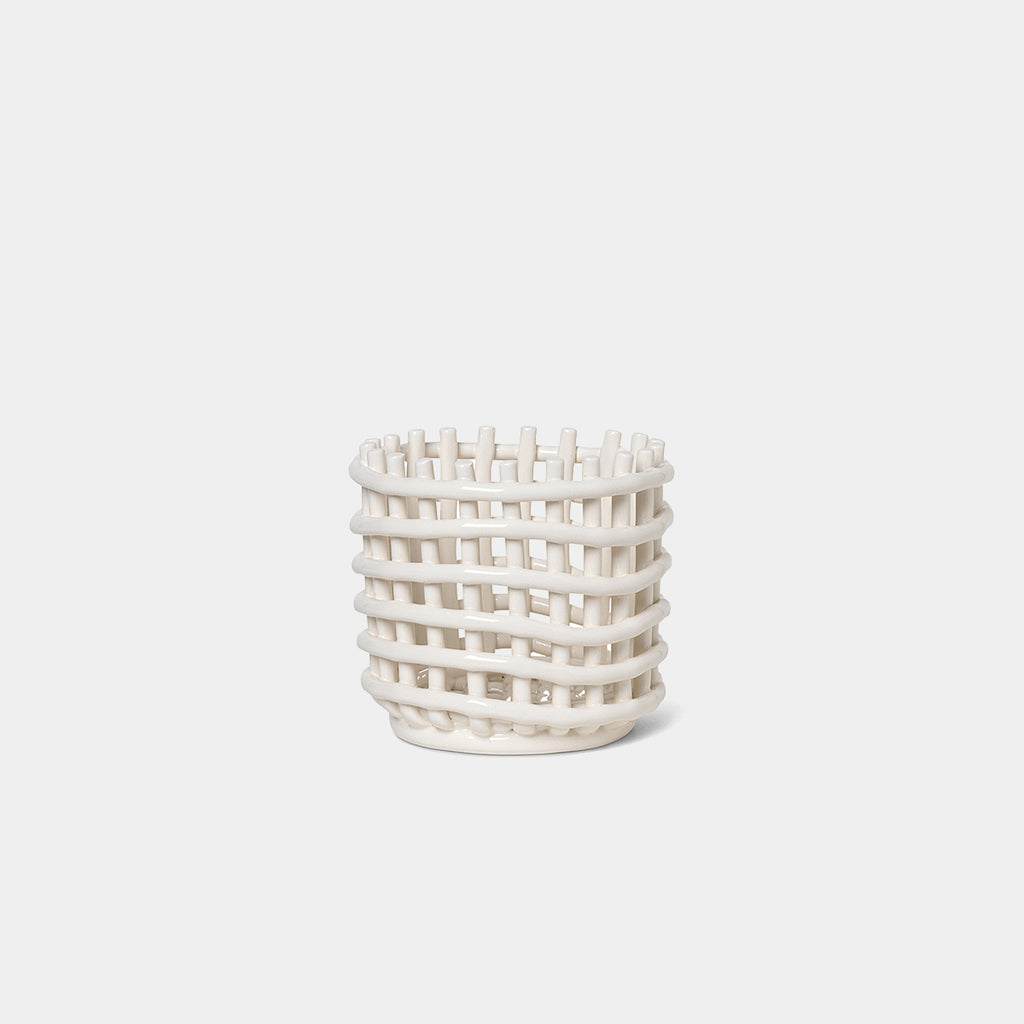 Ceramic Basket, small