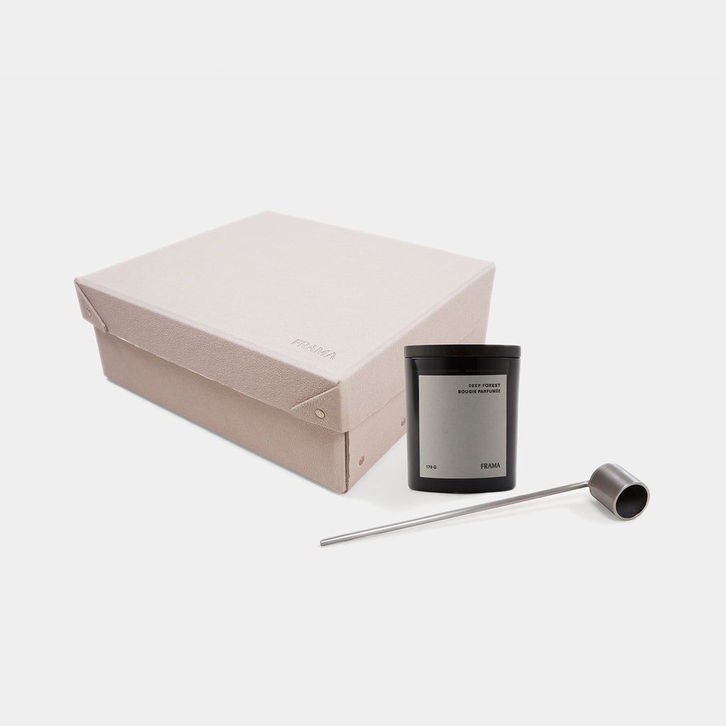 Gift Box: Deep Forest Scented Candle + Snuffer