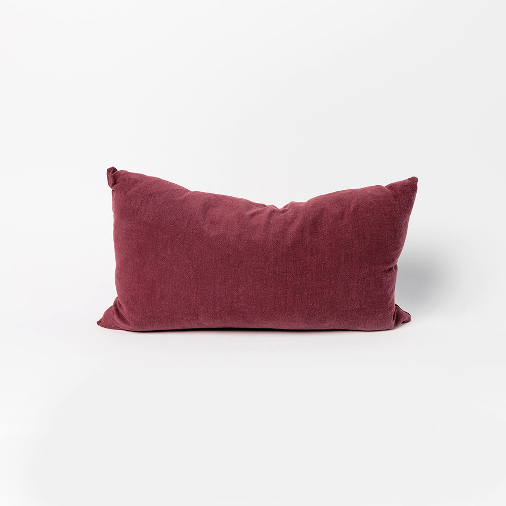 Simple Linen Pillow, Lumbar